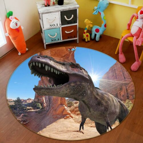 3D Huge Dinosaur 221 Non Slip Rug Mat Room Mat Round Quality Elegant Carpet AU