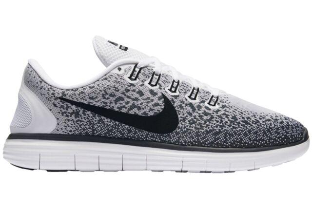 5711b050b485 Nike Free Distance Men s Running Shoes White Black 827115-100 sz 7 9.5 12.5