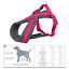 Trixie-Dog-Premium-Touring-Harness-Soft-Thick-Fleece-Lined-Padding-Strong thumbnail 4