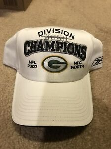 NFL Green Bay Packers 2007 NFC North Division Champions Hat~New ... 7265bbb01