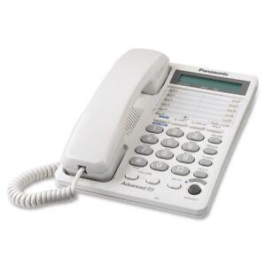 Panasonic-KX-TS208W-Standard-Phone-Corded-2-x-Phone-Line-White