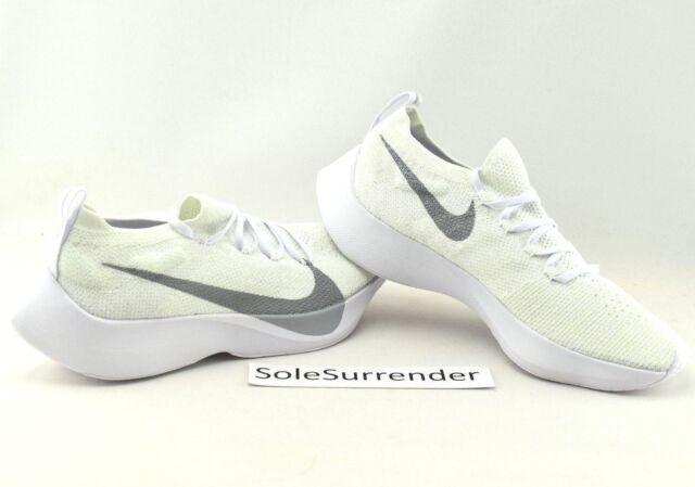 9798a4a1daee84 Nike Mens Zoom Vapor Street Flyknit White Wolf Grey Aq1763 100 Size ...