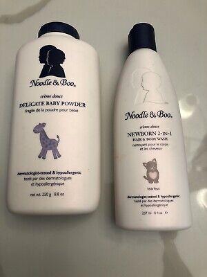 Noodle Boo Baby Powder And Newborn Hair Body Wash 899646000297 Ebay