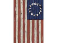 Country Betsy Ross Flag Outdoor Garden Flag / For Smaller Flag Poles