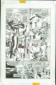 Superboy-and-the-Ravers-18-Josh-Hood-Original-Comic-Art-Page-4-DC-Comics-1997