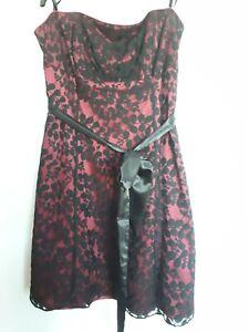 Ladies Bhs Strapless Dress Size 20 | eBay