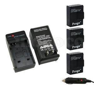 Progo-3-Bateria-Cargador-Para-Gopro-Hd-Hero-3-Hero3-Camara-Ahdbt-201-Ahdbt-301