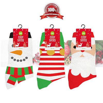 LADIES WOMEN/'S CHRISTMAS SOCKS XMAS Novelty Stocking Secret Santa Gift Present