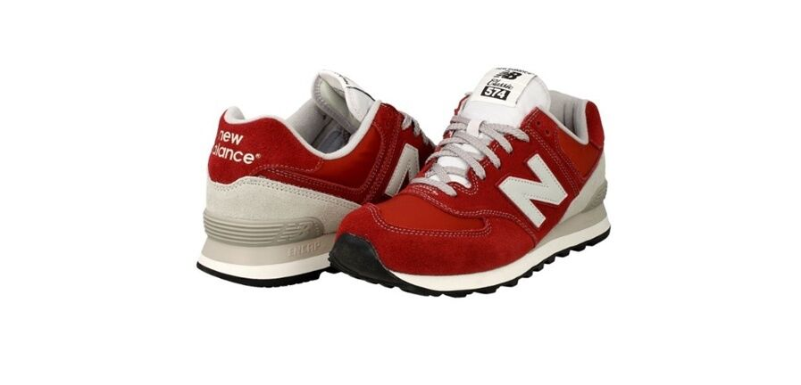 NEW BALANCE ML574VBU CLASSIC STYLE NB RED    SNEAKERS RETRO