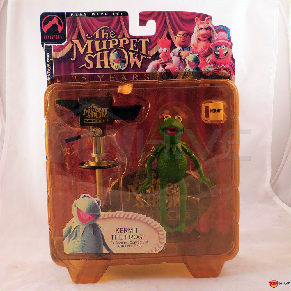 Muppet Show Palisades Kermit the Frog Series 1 Muppets figure by Palisades Toys