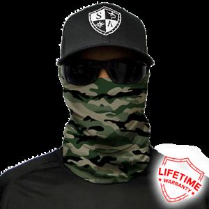 SA COMPANY Green Military Camo Face Shield Schal Bandana Halstuch BLITZVERSAND