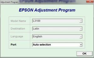 Details about Reset Epson L3150 + Generator Serial full Keygen
