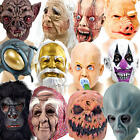 Horror Mask Fancy Dress Halloween Scary Mens Ladies Womens Adults Costume Masks