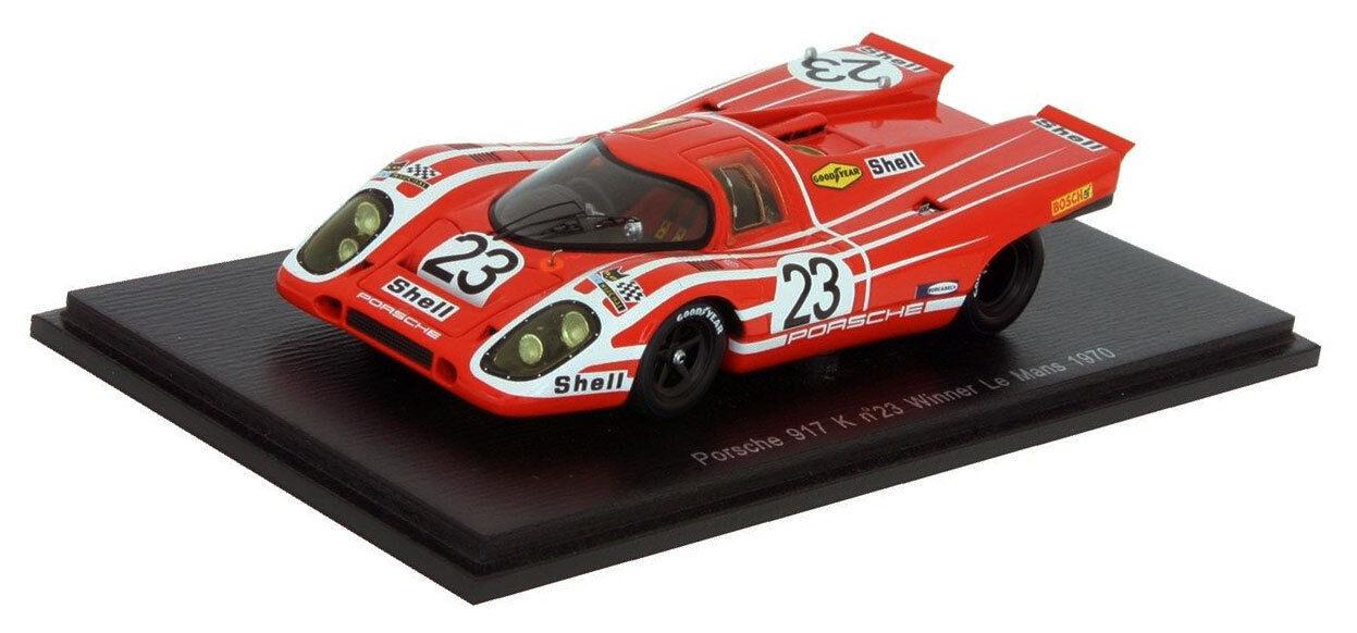 Spark 43LM70 porsche 917K  23 winner le mans mans mans 1970-attwood herrmann échelle 1 43 27908d