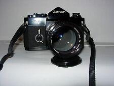 Canon F1 OLD  con 135mm 2.8 Canon.  20mm 2,8 Mitacon