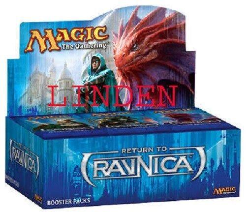 MTG MAGIC RETURN TO RAVNICA BOOSTER BOX FACTORY SEALED LINDEN