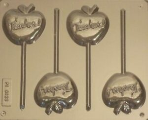 APPLE-FOR-TEACHER-CHOCOLATE-LOLLIPOP-MOULD-4-CAVITY