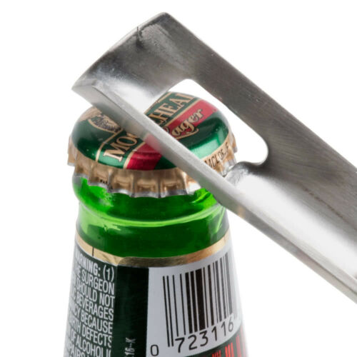"Nickel Plated Steel Bottle or Can Punch Opener 7/"" Free Shipping USA Only"