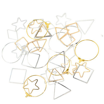 72pcs Assorted Earring Findings Charms Pendant for DIY Jewelry Making Crafts