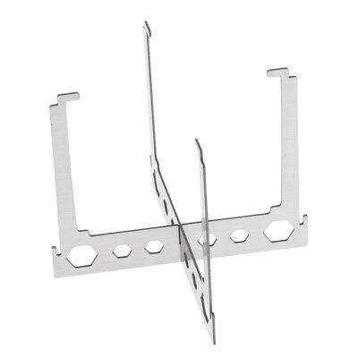 Alcohol Stove Stand Rack Spirit Burner Base Bracket Stainless Steel/_Rack/&