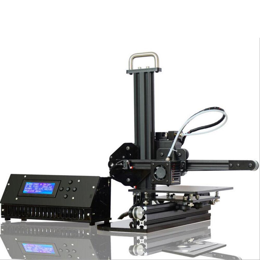 PAS High Precision 3D Printer Upgraded Desktop DIY Aluminium Frame LCD Display