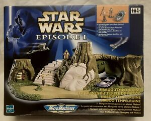 Star Wars Micromachines Ruines Temple Naboo Hasbro Neuf Vintage A-11 no Vador
