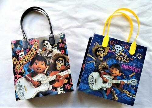 12 Pcs COCO Day of the dead Movie Birthday Party Favor Goody Gift candy Bags