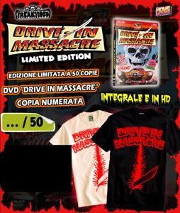 Drive-In-Massacre-Limited-Edition-50Cp-T-shirt-Freak-Video-Home-Movies