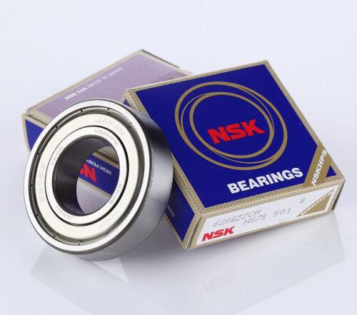 NSK 6204 ZZ Deep Groove Radial Ball Bearing 20x47x14mm