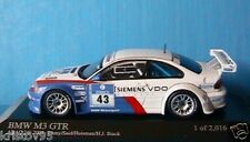 BMW M3 GTR #43 LAMY SAID HUISMAN STUCK ADAC 24H 2004 MINICHAMPS 400042343 1/43