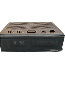 Panasonic-RC-6045-Flip-Clock-AM-FM-Radio-Alarm-034-JAPAN-11-034-Vintage-1970-039-s-Working