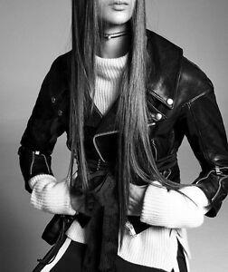 Giacca di Biker M pelle Np pelle Giacca Xs € 279 di Woman nera in Zara Studio S L rrpCdqw