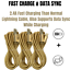 3-Pack-10Ft-Braided-Micro-USB-Phone-Charger-Charging-Cable-Data-Cord-For-Samsung miniature 5