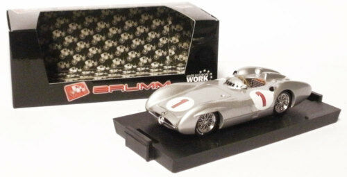 Brumm Mercedes W196C 1954 - J M Fangio World Champion 1 43 Scale