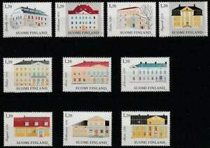 Finland-postfris-1982-MNH-903-912-Architectuur-Grange