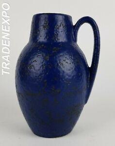 Vintage-1960-70-039-s-SCHEURICH-KERAMIK-Fat-Lava-Vase-414-16-West-German-Pottery