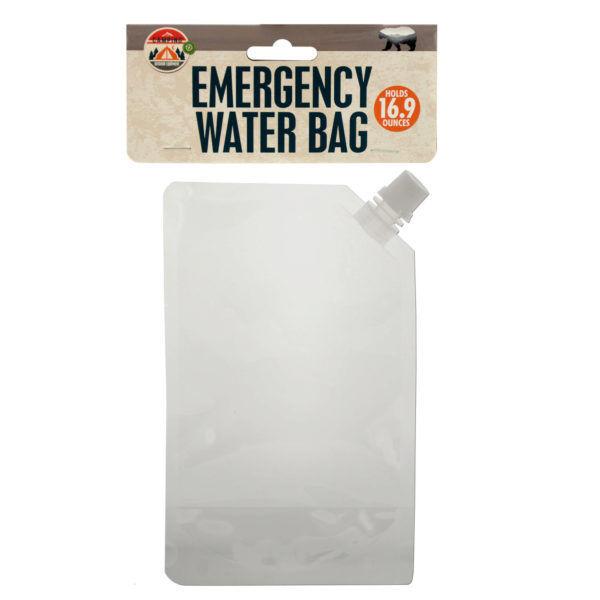 Set of 24 Bulk Lot  16.9 Oz. Emergency Water Bag  100% genuine counter guarantee