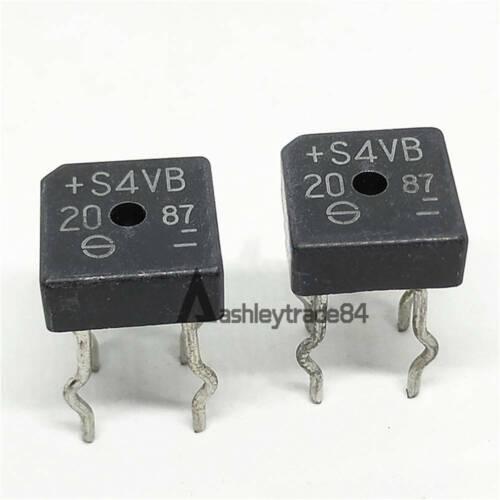 Nuevo fabricante Puente Diodo 200V 4A shindeng la encapsulación MPN:S4VB20 Dip