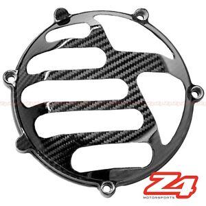 Ducati 748 916 996 998 Right Engine Clutch Gearbox Case Cover Guard Carbon Fiber