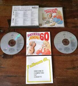 L-039-Album-di-Successi-Anni-039-60-1a-Edizione-Fat-Box-2x-Cd-Perfetti-Libro-Testi