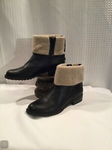 Style & Co. Womens Bettey Closed Toe Ankle Cold Weather Boots, Black, Size 10M