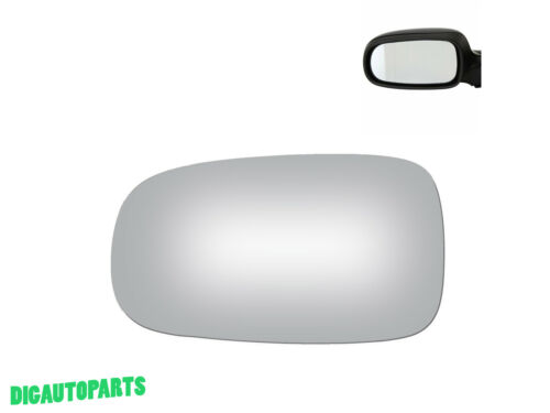 NEW Mirror Glass Replacement For 03-11 SAAB 9-3,9-3x,9-5 Driver Left Side LH