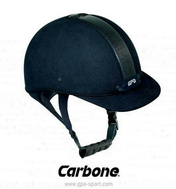 GPa carbon cap casco montar a caballo