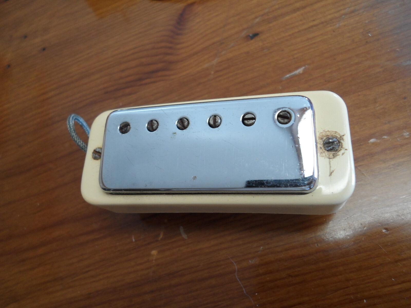 Vintage 1960s Gibson Patent Sticker  2 737 842 Mini Mini Mini Humbucker f763cb