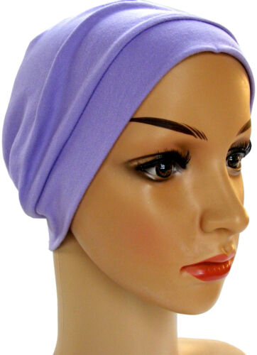 LOUNGE DAY NIGHT SLEEP CAP HAT 100/% COTTON JERSEY HEADWEAR FOR HAIR LOSS.CHEMO