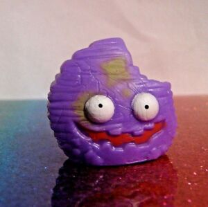 The Grossery Gang Series 1 #083 CRUDDY CHIP Purple Mini Figure Mint OOP