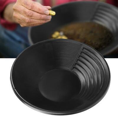 """Gold Pan 36 cm 14/"""" Spun Steel Metal Gem Fossicking Panning Prospecting Detector"""