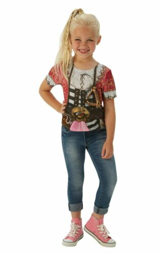 T-shirt Ragazza Pirata Costume