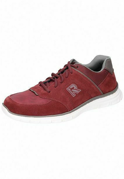 Rieker Homme paniers Chaussure Rouge 4812-35