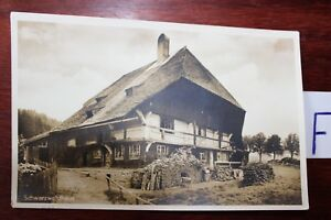 Carte Postale Vue Carte Bade-wurtemberg Noir Waldhaus-erg Schwarzwaldhaus Fr-fr Afficher Le Titre D'origine